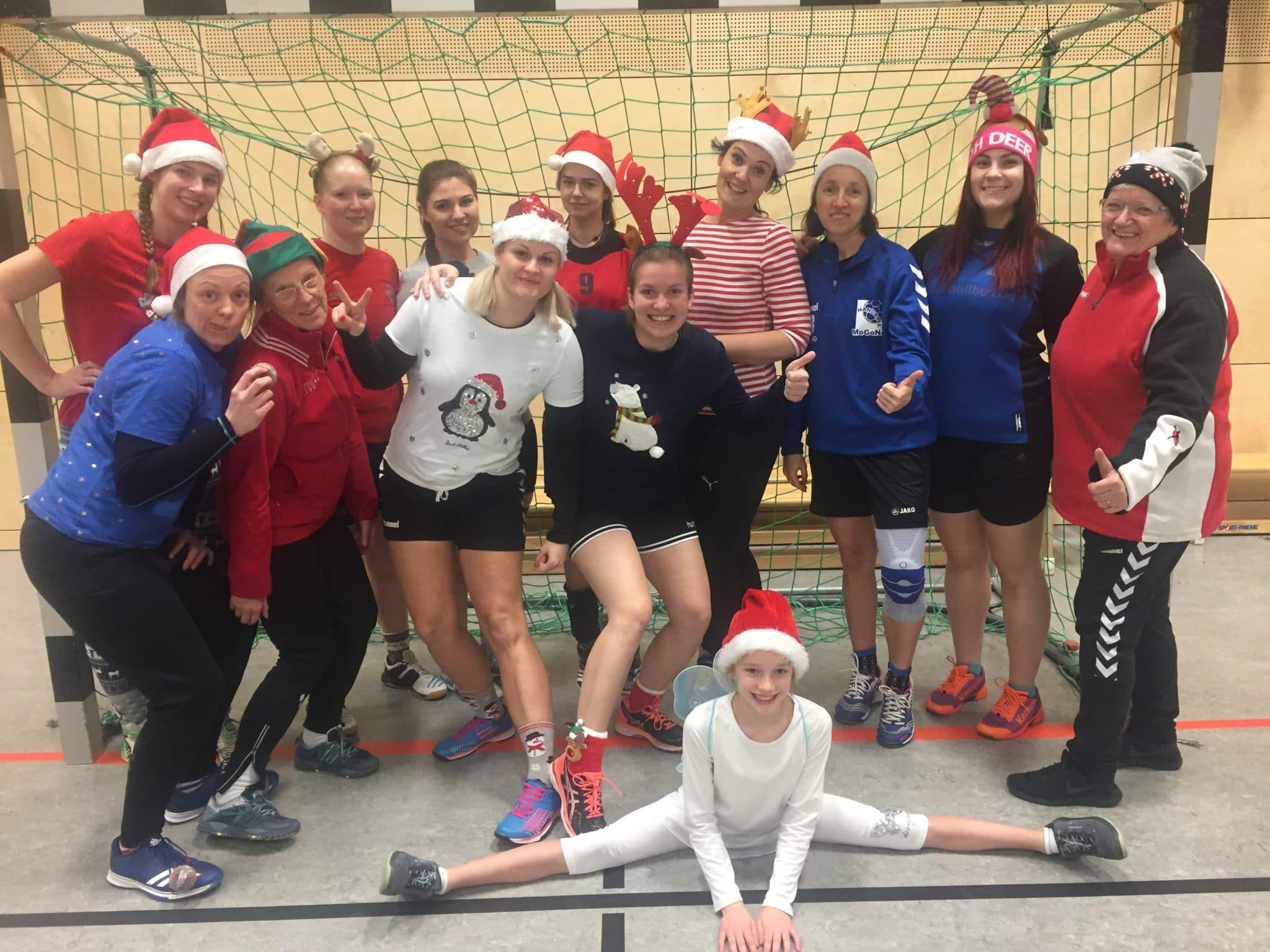 Weihnachtsgrüße Männer.2 Fr Weihnachtsgrüße Von Der Tabellenspitze Abteilung Handball